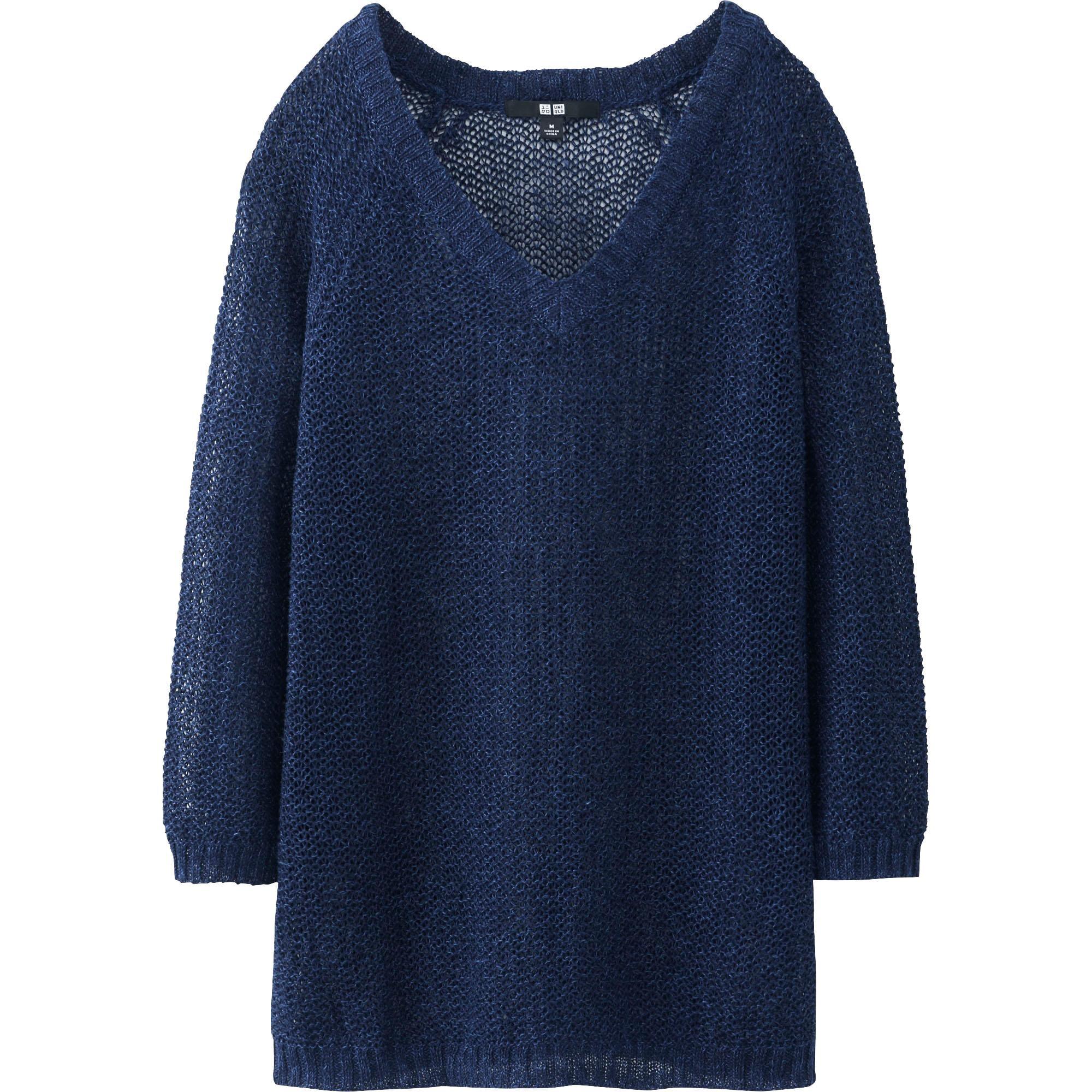 Uniqlo Linen Sweater