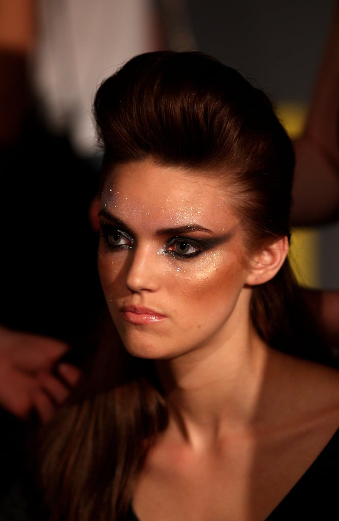 Photos of Hair Backstage at Alex Perry's Show at RAFW 2010