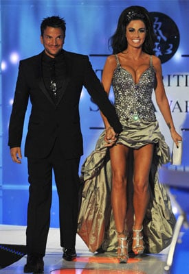 Photos of Jordan and Peter at British Soap Awards 2009 Before Announcing Separation