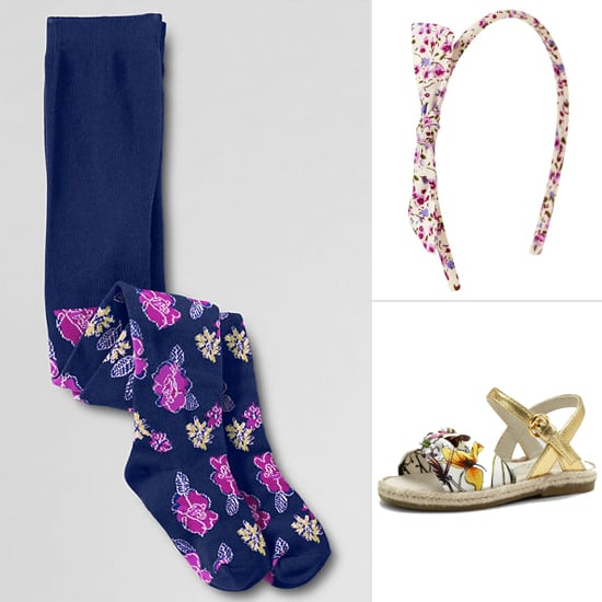 Spring-Friendly Floral Accessories For Your Little Lady