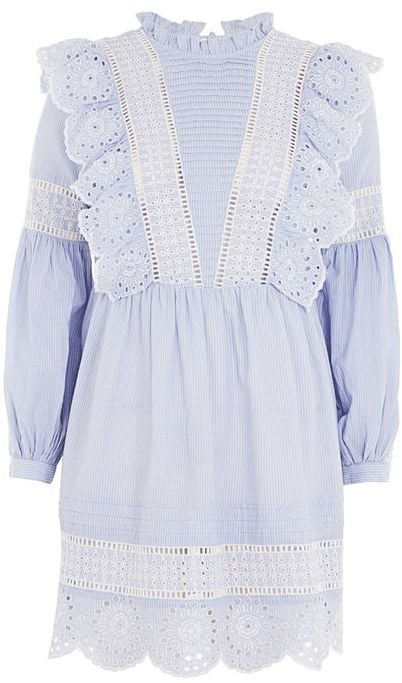 Zimmermann or Self-Portrait fans will fall for this feminine frilled smock dress ($90).