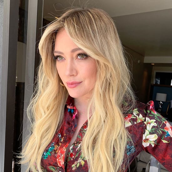 Hilary Duff Bangs Haircut May 2019