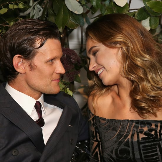 Matt Smith and Lily James Pictures