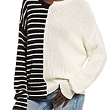 BP Colorblock Cotton Sweater