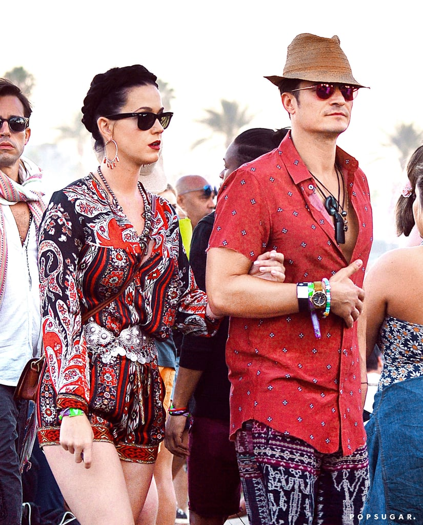 Katy Perry and Orlando Bloom at Coachella 2016 | Pictures