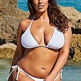 Ashley Graham x Swimsuits For All Heroina White Bikini