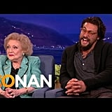 When He and Betty White Couldn't Stop Flirting, and It Made Us Totally Jealous