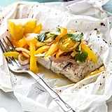 Barramundi, Ginger, and Peppers en Papillote