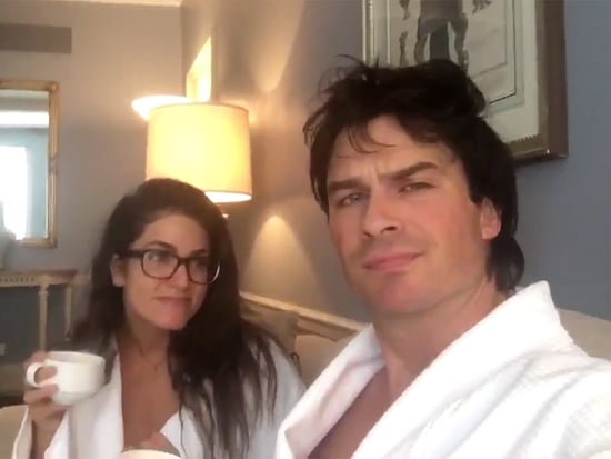 Ian Somerhalder and Nikki Reed Think You Should #ProbablyVote (and Paul Wesley Does, Too)