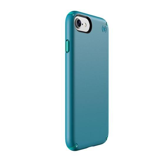 """غطاء حماية """"سبيك"""" لهواتف آيفون 7 باللون الأزرق الداكن أو المعدني اللمّاع (بسعر 40$ دولار أمريكي؛ 147 درهم إماراتي/ريال سعودي)"""
