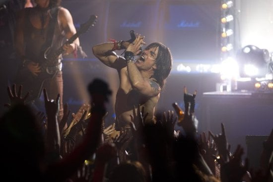 Tom Cruise rocked out shirtless on stage for Rock of Ages in 2012.