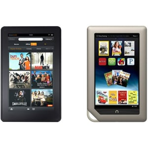 Nook Tablet vs. Kindle Fire Poll