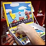 Janod's magnetic books were a big hit and are sure to be on many holiday lists this year.