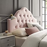 Modway Sovereign Queen Diamond Tufted Velvet Headboard