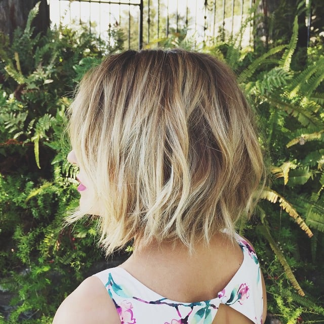 Those Choppy Layers At The Very Bottom Give Lauren Conradu0027s Cut The Perfect  Texture Encouragement.