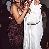 Pals Mariah and Whitney celebrated at Elton John's Oscars party in 1999.