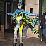 Heidi Klum as a Butterfly