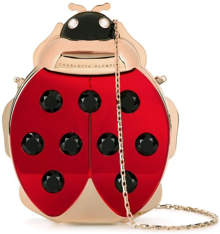 The Charlotte Olympia Ladybird Shoulder Bag ($2,505) is perfect for the Spring and Summer.