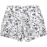 We'd wear these sweet printed shorts to a garden party.  Emma Cook Printed Silk Shorts ($340)