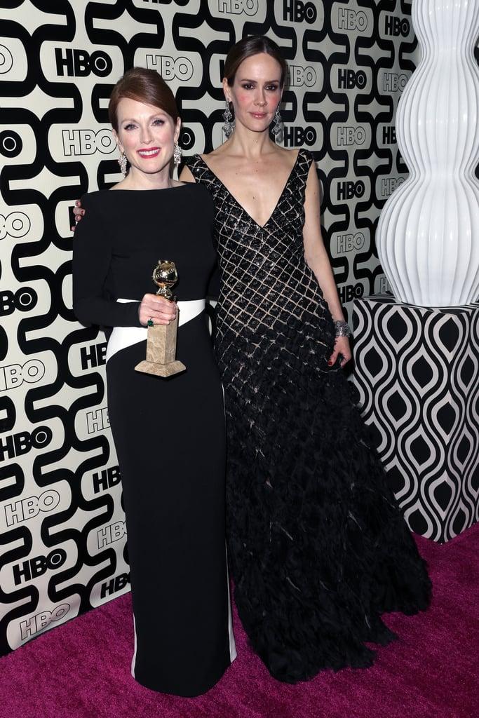 Julianne Moore And Sarah Paulson Golden Globes Pictures 2013 Popsugar Entertainment Photo 503