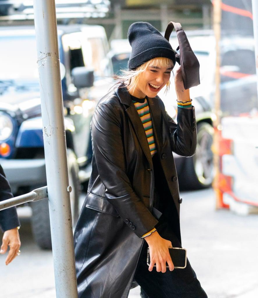 Dua Lipa Reveals Her New Bangs Are Due to Bleach Damage