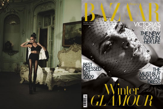 Photos of Victoria Beckham on Cover of Harper's Bazaar December 2009 Issue