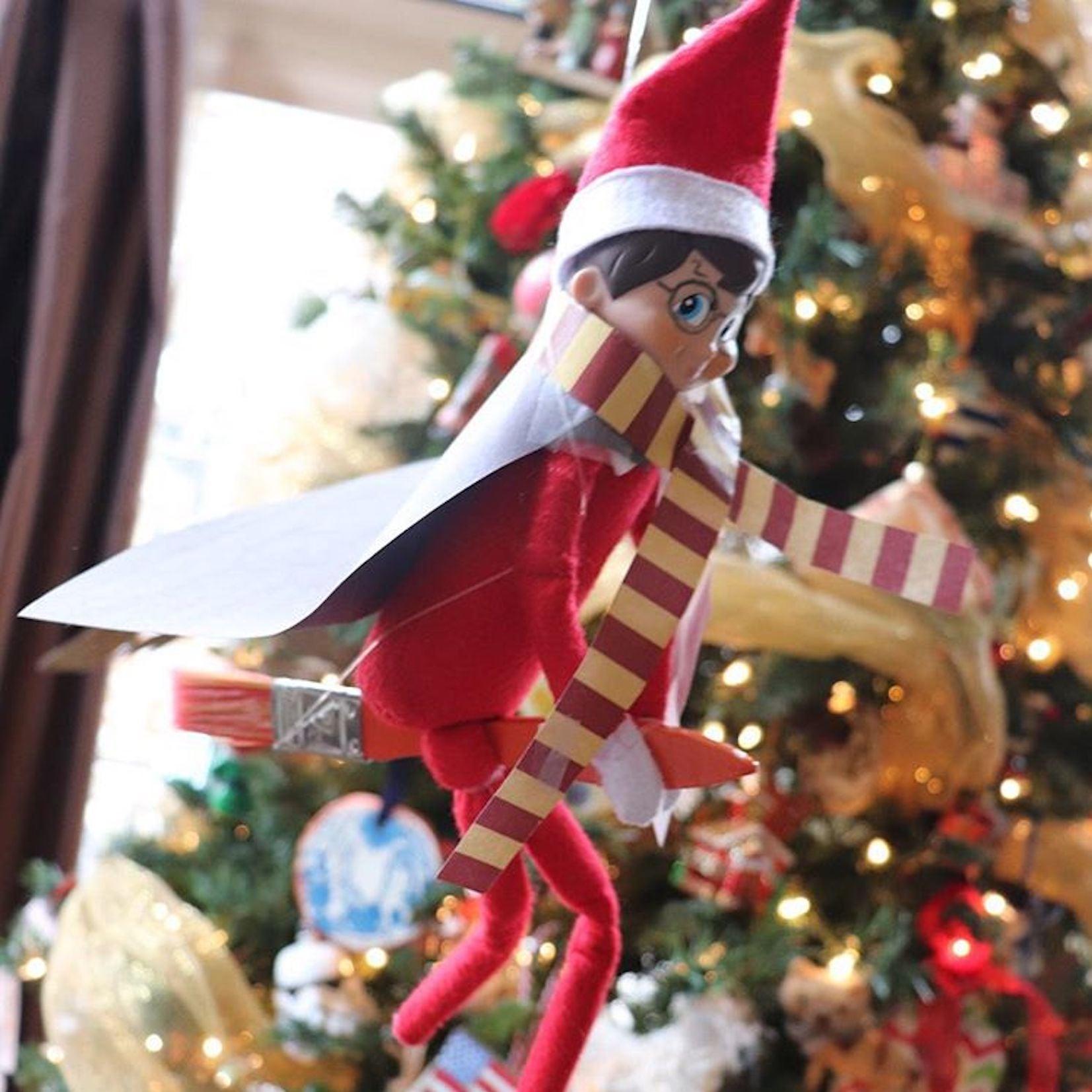 Creative Elf On The Shelf Ideas Popsugar Family