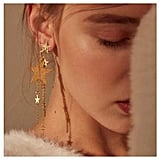 CanB Dangle Star Earrings