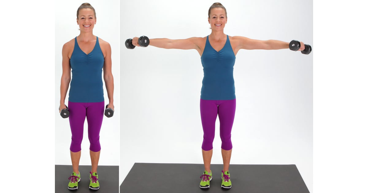 Lateral Arm Raise | Best Dumbbell Arm Exercises