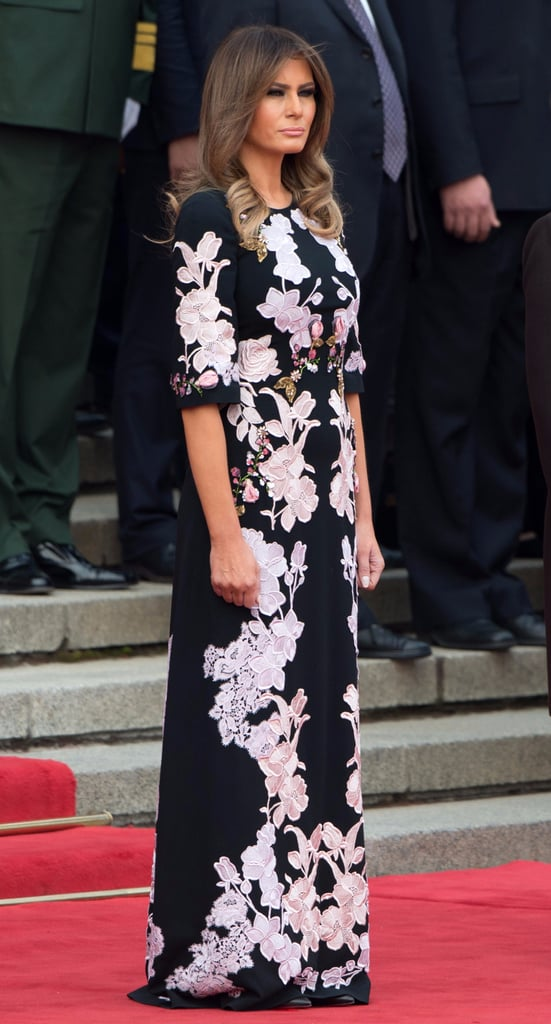Melania Trump Outfits in Asia 2017
