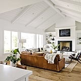 Modern Farmhouse Living Room Zoom Background