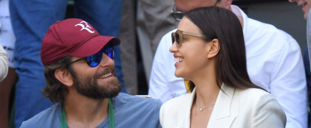 Bradley Cooper and Irina Shayk Look All Loved Up at Wimbledon