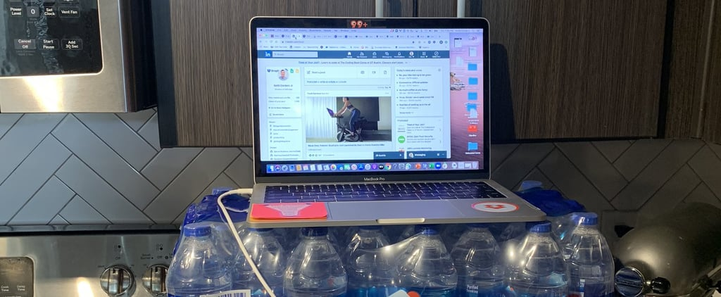 People Are Sharing Their Creative WFH Desks, and LOL