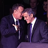 """George Clooney Jokes That Amal Is the """"Smart One"""""""