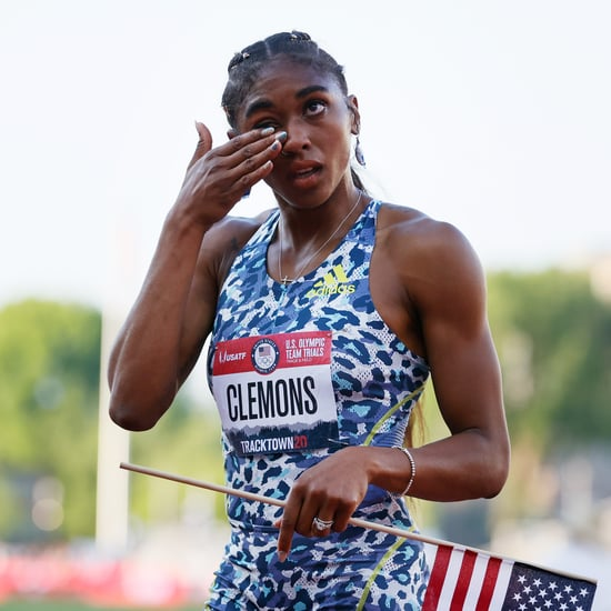 Christina Clemons Wears Doritos Earrings For Olympic Trials
