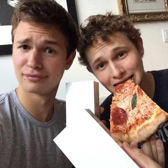 """Ansel and Warren snapped a selfie with their """"iPhones and ..."""