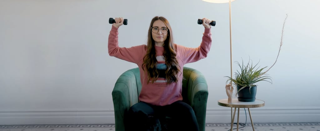 Seated Upper-Body Workout You Can Do While Watching Netflix