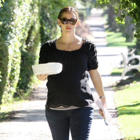 Pregnant Jennifer Garner and Ben Affleck in LA Pictures