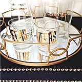 The find: a golden bar set.