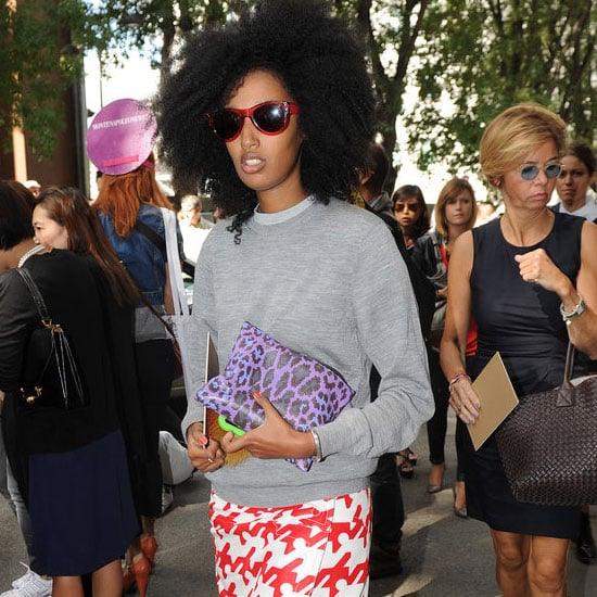 Pictures of Celebrities Front Row at 2013 Spring Milan Fashion Week: Anna Dello Russo, Solange Knowles & more!