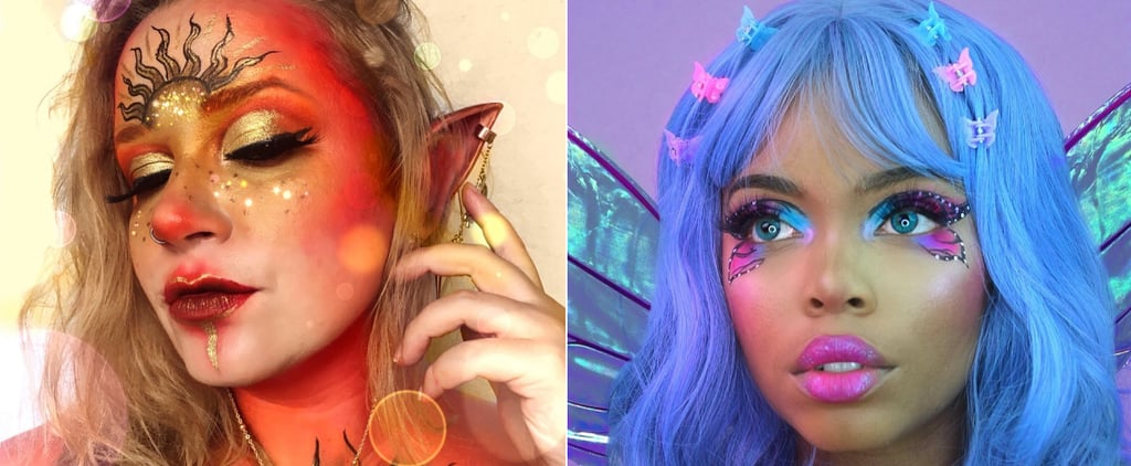 Best Fairy Costume Halloween Makeup Ideas