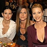 The ladies posed for photos at their table during the SAG Awards in 2003.