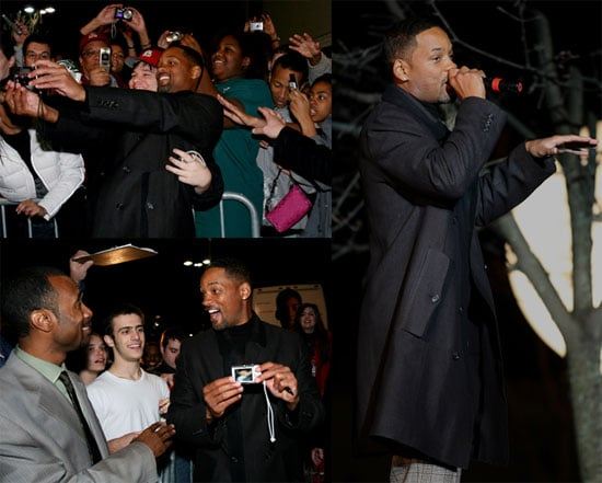 Photos of Will Smith at a Benefit Screening of Seven Pounds in Missouri