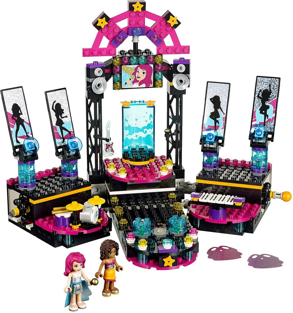For 7-Year-Olds: Lego Friends Pop Star Show Stage Building Kit