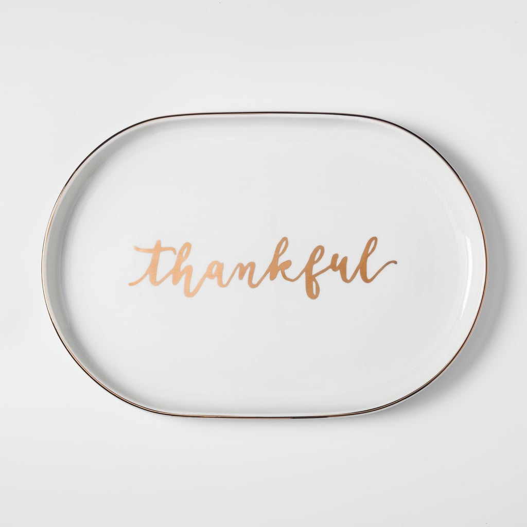 """Thankful"" Serving Tray"