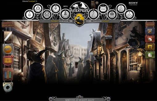 More Images From Inside Pottermore!