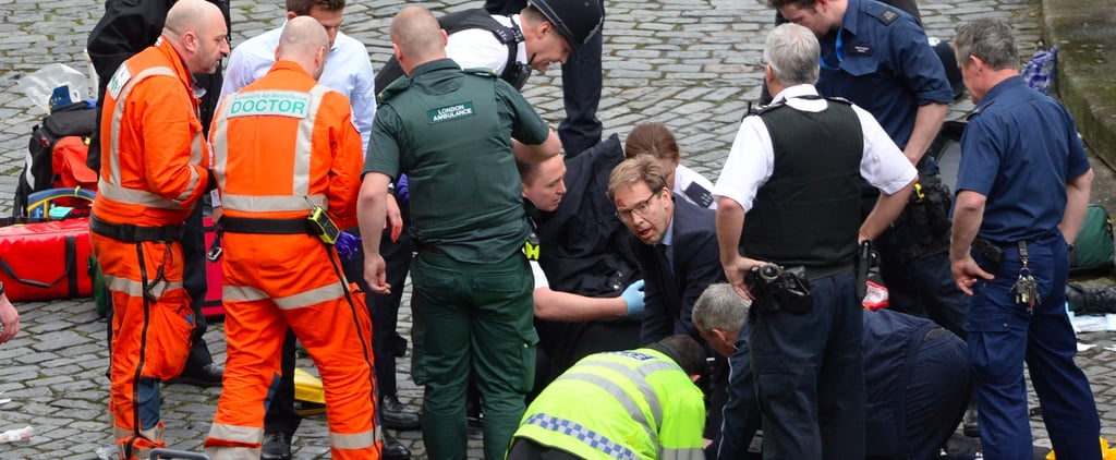 1 Man Made a Heroic Effort to Save the Officer Stabbed in the Westminster Attack