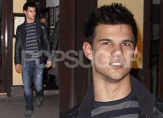 Photos of Taylor Lautner in New York