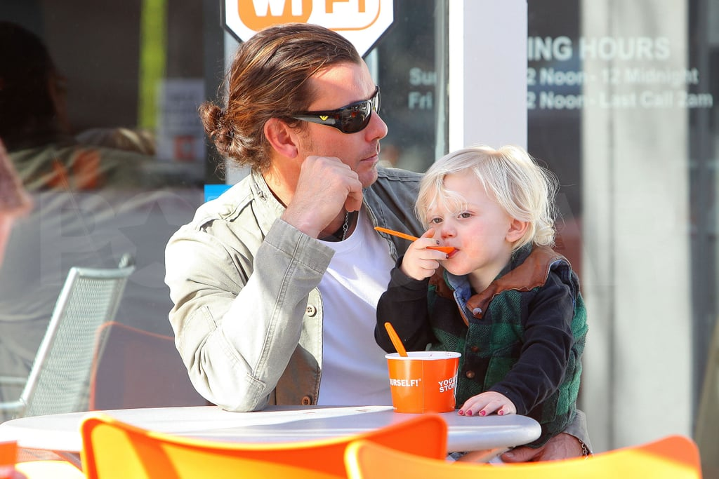 Gavin and Zuma Focus on Froyo While Gwen Jets Out of Town