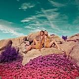 H&M LOVES COACHELLA Patterned Jumpsuit ($18)